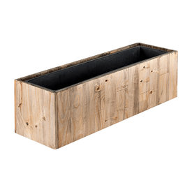 Fleur.nl - Marrone Wood Box 81 cm