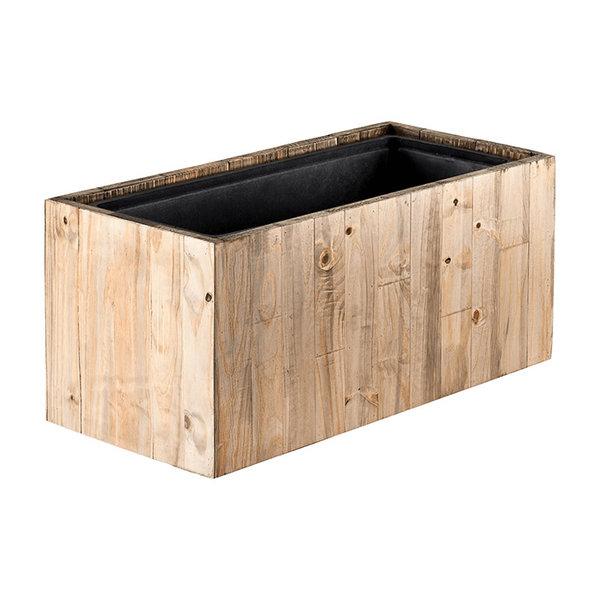Marrone Wood Box 61 cm (+ inzetbak)  - medium