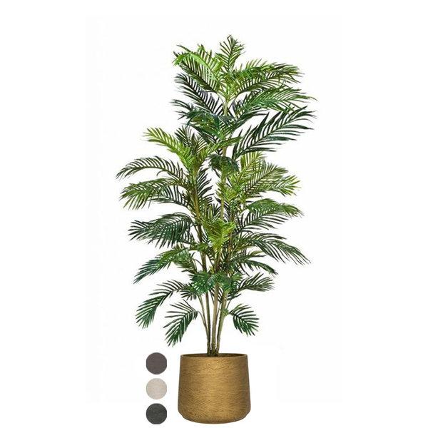 Palm Areca (kunstplant) in Rugged Patt XXL