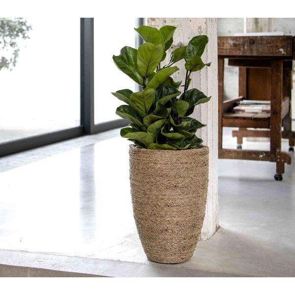 Pottery Pots Bohemian Straw Grass High Ø 52 - Hoogte 72 cm