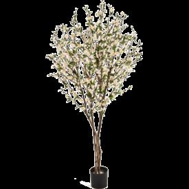 Fleur.nl - Cherry Blossom  White - kunstplant