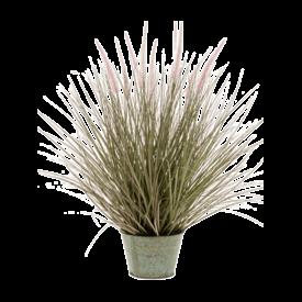 Fleur.nl - Pennisetum Grass in Zinc pot - kunstplant