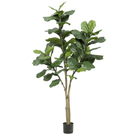 Fleur.nl - Ficus Lyrata vertakt - kunstplant