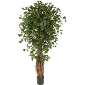 Fleur.nl - Ficus Liana Exotica Bush - kunstplant