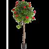 New Camelia Umbrella Red - kunstplant