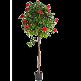 Fleur.nl - New Camelia Umbrella Red - kunstplant