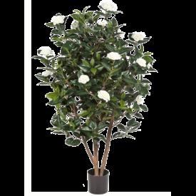 Fleur.nl - Camelia Japonica White - kunstplant