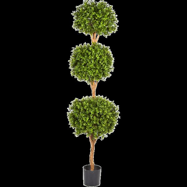 Boxwood Triple Ball - kunstplant