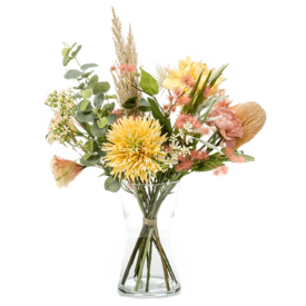 Fleur.nl - Boeket Pretty Soft Focus - kunstplant