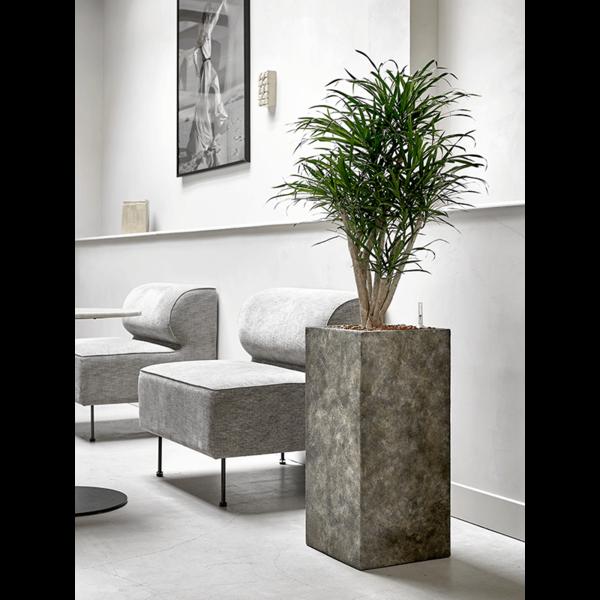 Baq Luxe Lite Stone Luna Square Ø 27 cm