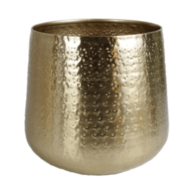 Fleur.nl - Pot Metal Gold Ø 24