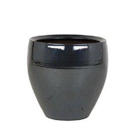 Fleur.nl - Amora Metal Blue pot medium