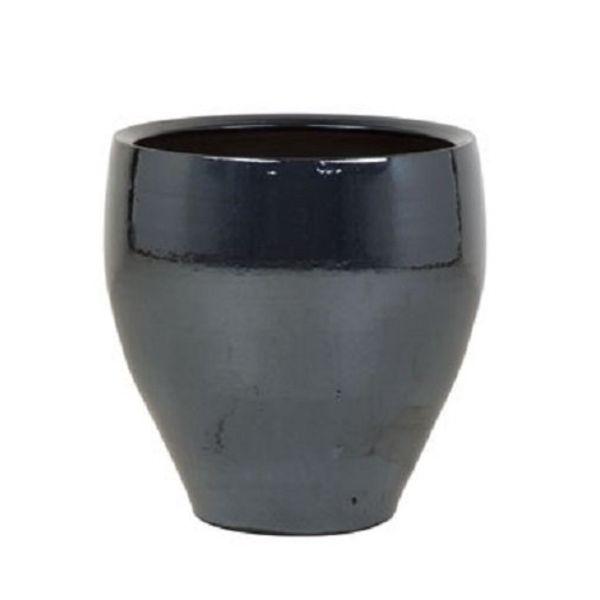 Amora Metal Blue pot large