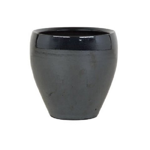 Amora Metal Blue pot small