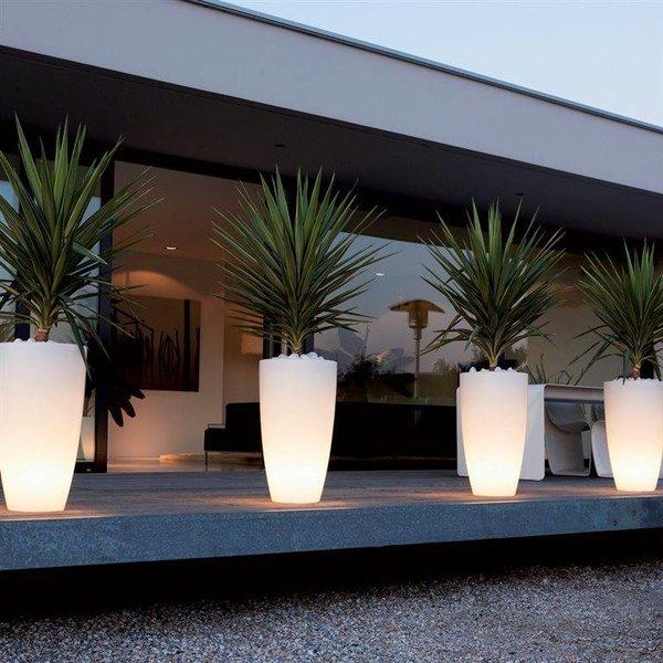 Elho Pure Soft Rond High LED Lighting Ø 40