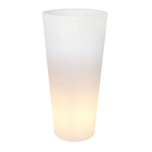 Elho Pure Recht Hoog LED Lighting Ø 40