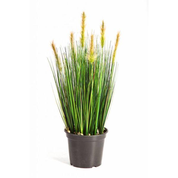 Grass Foxtail Bush Yellow - kunstplant