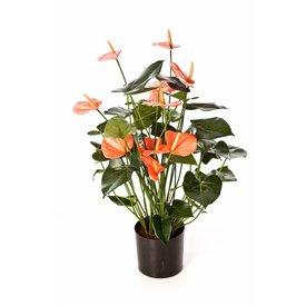 Fleur.nl - Anthurium de Luxe Pink - kunstplant