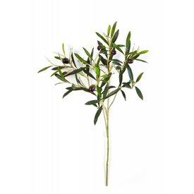 Fleur.nl - Natural Olive Spray - kunstplant