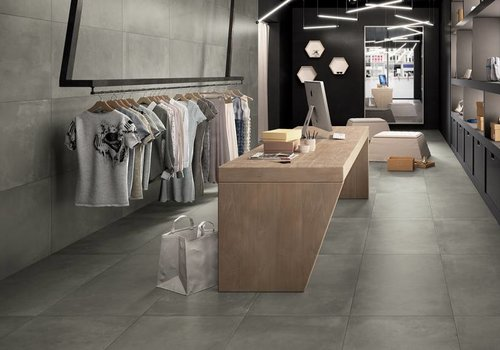 Castelvetro vloertegel FUSION Piombo 60x120 cm Rett.
