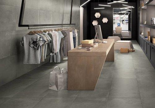 Castelvetro vloertegel FUSION Piombo 40x80 cm Rett.