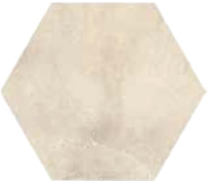 vloertegel FUSION Bianco Esagona lato 15