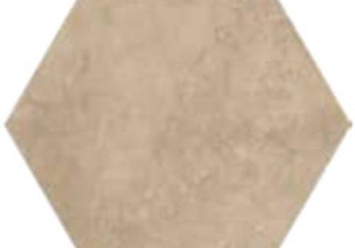 Castelvetro vloertegel FUSION Tortora Esagona lato 15