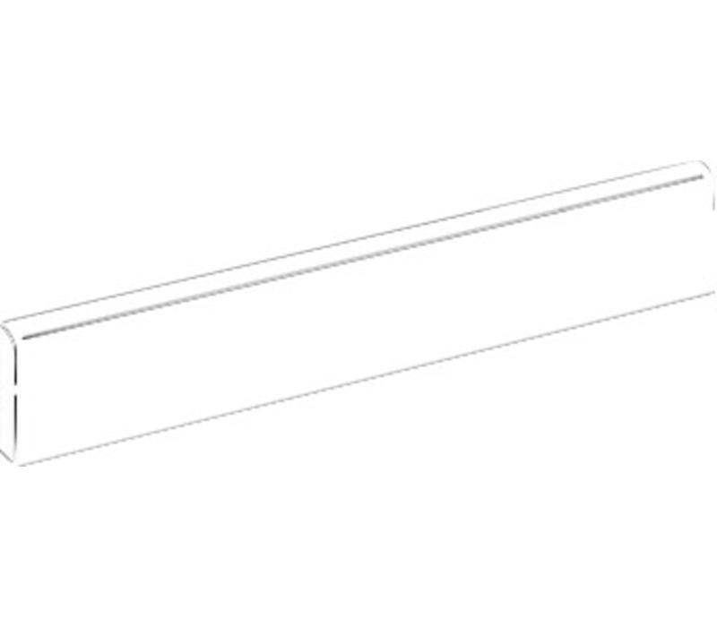 Plint FUSION Bianco 7x60 cm