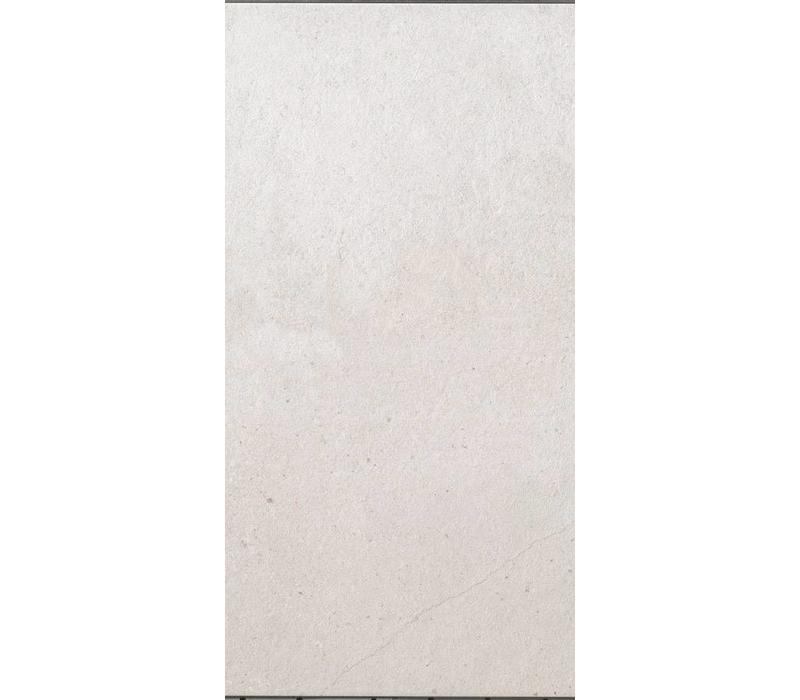 vloertegel PIETRA BAUGE Bianca 30x60 cm - 9,4 mm Rett.