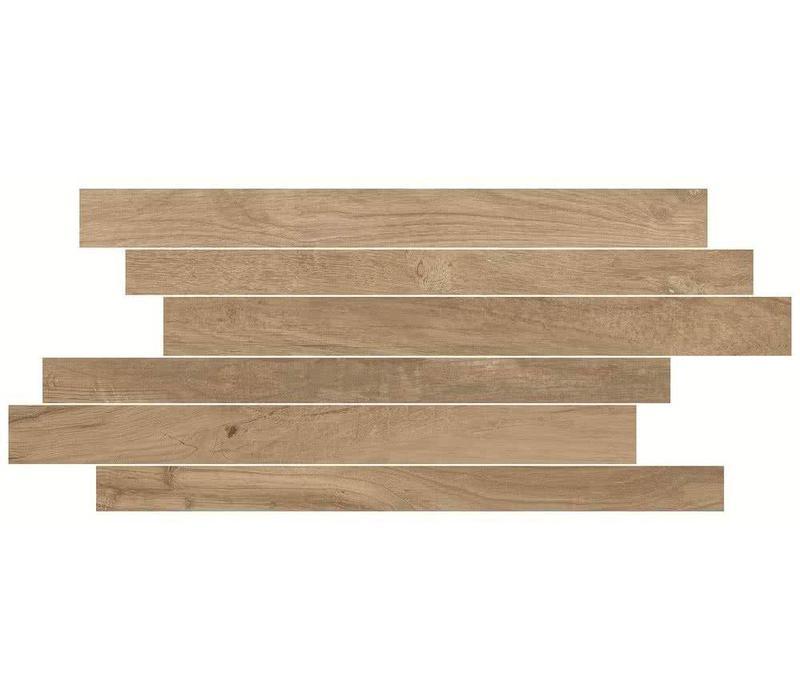 Muretto WOODLAND Stick Oak 20x50 cm