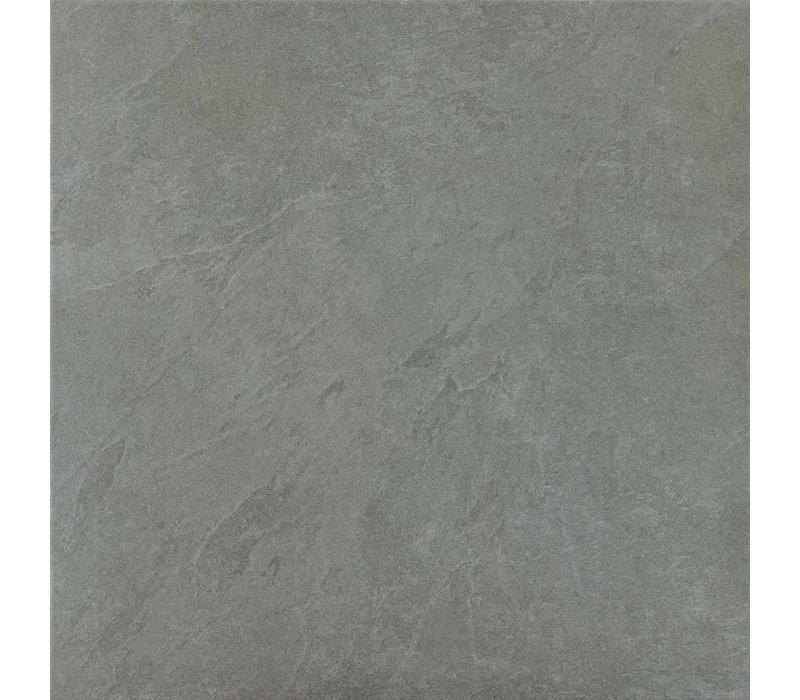 vloertegel SLAB Silver 60x60 cm Rett.