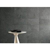 vloertegel SLAB Black 30x60 cm