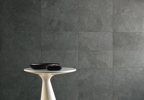 Caesar vloertegel SLAB Black 30x60 cm