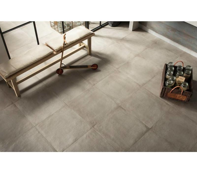vloertegel ONE Cement 60x60 cm Nat.