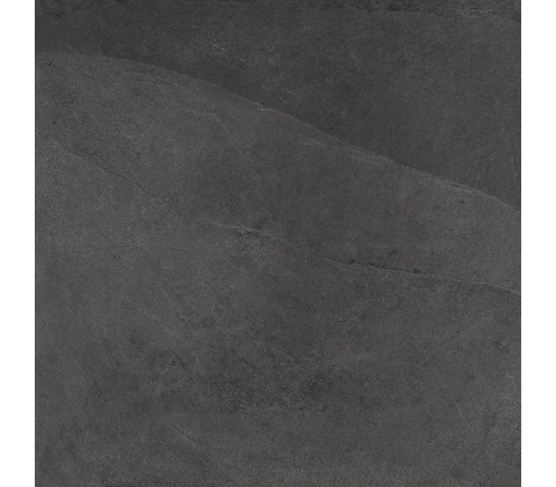 vloertegel MYSTONE ARDESIA Antracite 75x75 cm Rett.