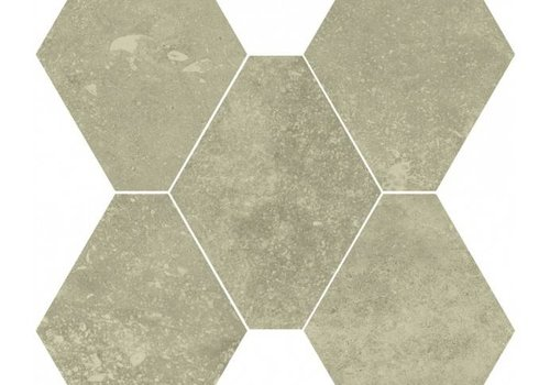 Castelvetro vloertegel ABSOLUTE Esagona Beige 40x35 cm