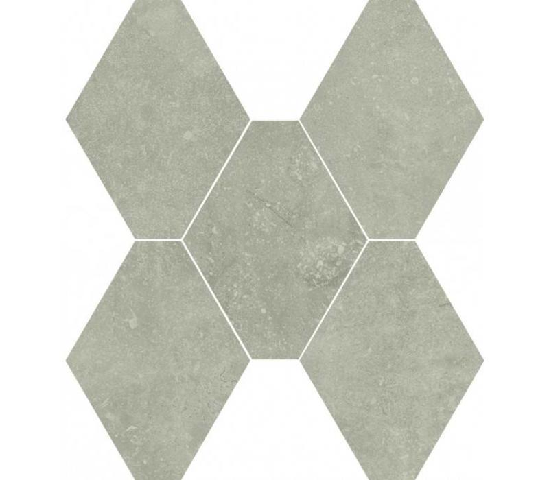 vloertegel ABSOLUTE Esagona Grigio 40x35 cm