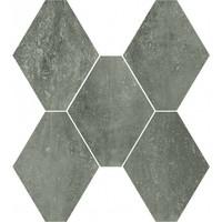 vloertegel ABSOLUTE Esagona Titanio 40x35 cm