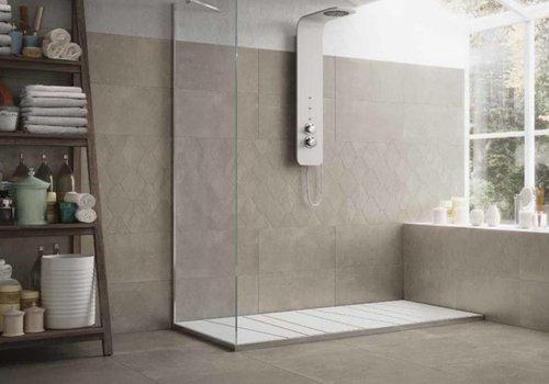 Castelvetro vloertegel ABSOLUTE Esagona Titanio 40x35 cm