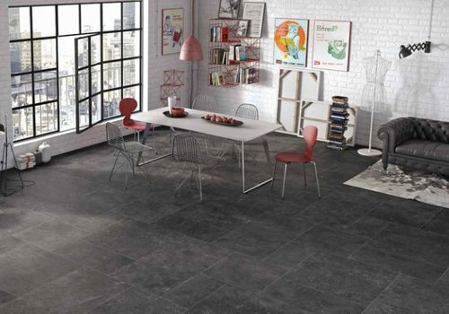 Castelvetro vloertegel ABSOLUTE Nero 60x60 cm