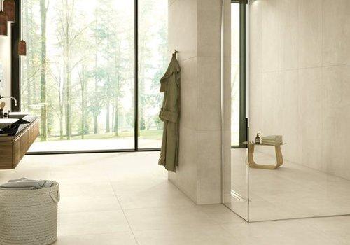 Casalgrande Padana vloertegel BETON Ivory 75,5x75,5 cm