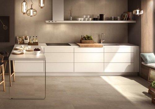 Casalgrande Padana vloertegel BETON Sand 75,5x75,5 cm