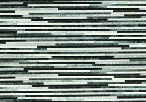 STN decortegel FRISO Gris Mate 25x75 cm