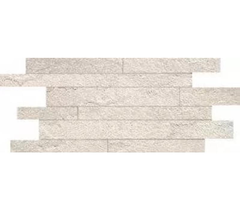 Muretto MINERAL CHROM White Composizione A 30x60 cm - Naturale