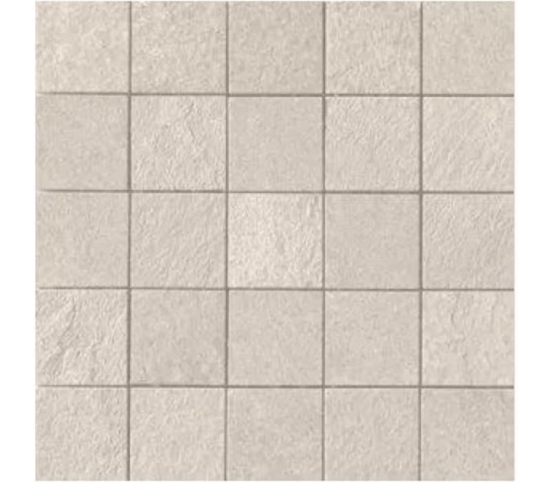 Mozaïek MINERAL CHROM White 6x6 - Naturale