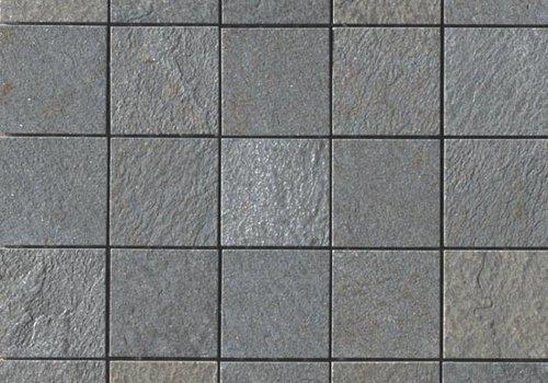 Casalgrande Padana Mozaïek MINERAL CHROM Grey 6x6 - Naturale