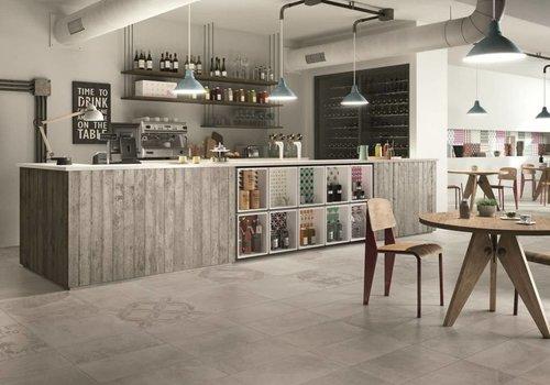 Castelvetro vloertegel BONDING Grey 60x60 cm rett.