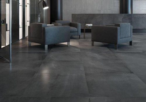 Supergres vloertegel ALL OVER Dark 75x75 cm - Naturale