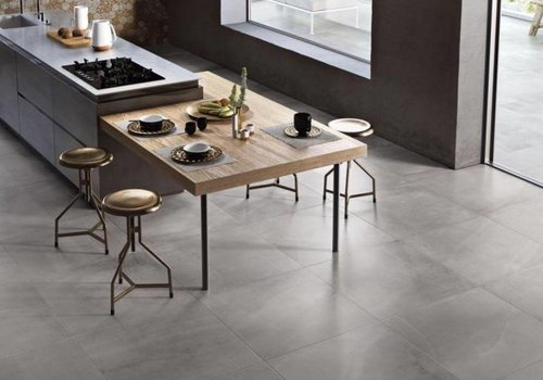 Supergres vloertegel ALL OVER Grey 75x75 cm - Naturale