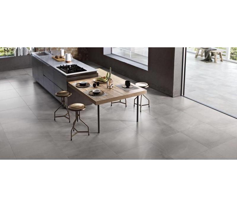 vloertegel ALL OVER Grey 75x75 cm - Naturale